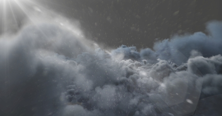 Digital composite of clouds background Stock Photo