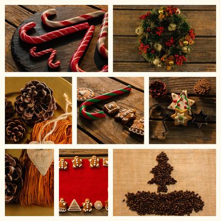 pere noel sexy: Candy et décoration de Noël Banque d'images
