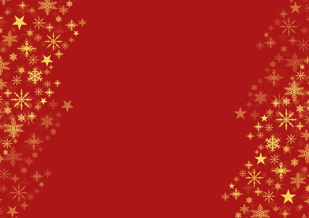 Digital composite of Snowflake Christmas pattern with blank space