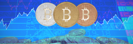 Bitcoin against stocks and shares