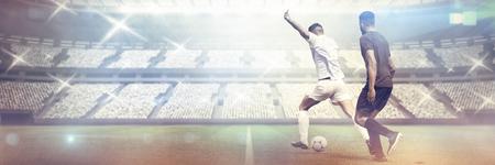 Shot  against stadium against sky