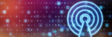Network against virus background