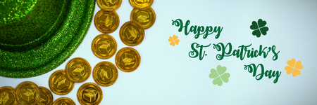 Digital composite of St Patricks Day Greeting