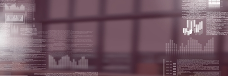 Digital composite of screen text interface Foto de archivo