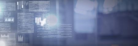 Digital composite of screen text interface Archivio Fotografico - 96922552