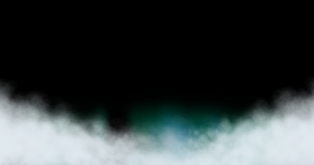 Digital composite of Smoky clouds with black space