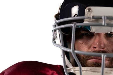 American Football Player Stockfoto