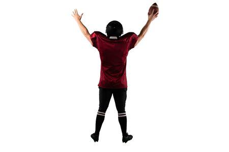 American Football Player 免版税图像