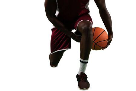 Basketball player 免版税图像