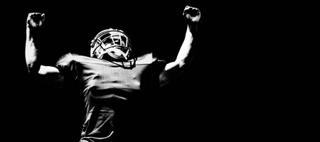 American Football Player 스톡 콘텐츠