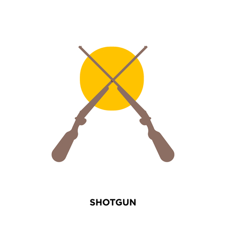 shotgun icon isolated on white background for your web, mobile and app design