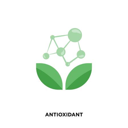icona antiossidante isolato su sfondo bianco per il tuo design web, mobile e app Vettoriali