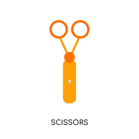 scissors logo png isolated on white background for your web, mobile and app design Illustration