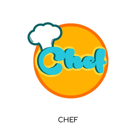 chef logo png isolated on white background for your web, mobile and app design