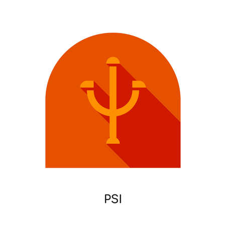 psi logo isolated on white background for your web, mobile and app design
