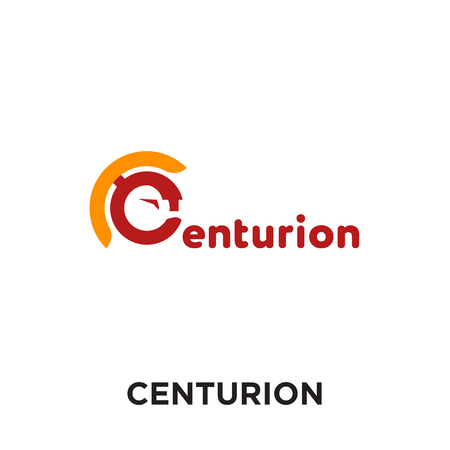 centurion logo isolated on white background for your web and mobile app design , colorful vector icon, brand sign & symbol for your business