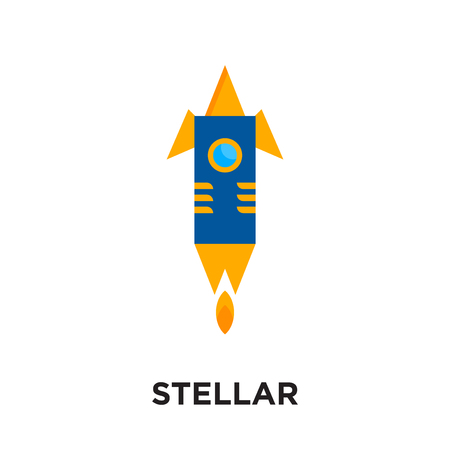stellar logo isolated on white background for your web and mobile app design , colorful vector icon, brand sign & symbol for your business
