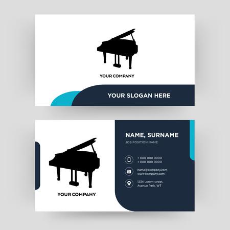 vleugel, visitekaartje ontwerpsjabloon, bezoeken voor uw bedrijf, moderne creatieve en schone identiteitskaart Vector