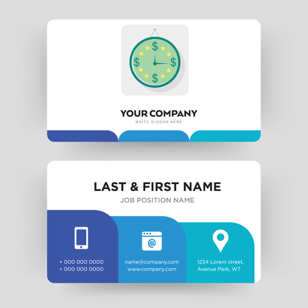 estimate, business card design template, Visiting for your company, Modern Creative and Clean identity Card Vector