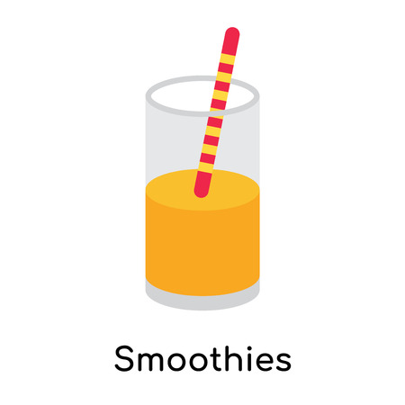 Smoothies icon isolated on white background for your web and mobile app design