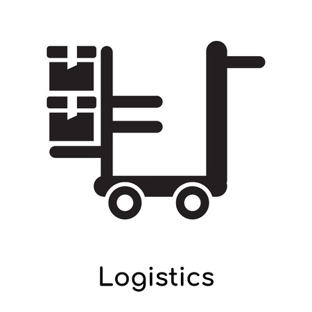 Logistics icon isolated on white background for your web and mobile app design