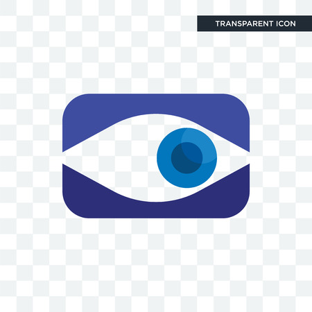 neighborhood watch vector icon isolated on transparent background, neighborhood watch logo concept Vettoriali
