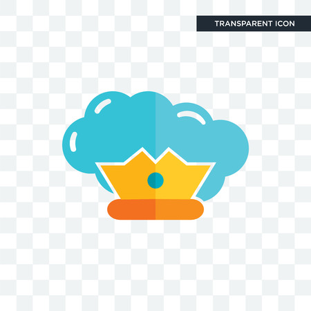 supreme vector icon isolated on transparent background, supreme logo concept
