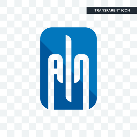 ain vector icon isolated on transparent background, ain logo concept