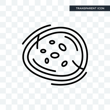 Basophil vector icon isolated on transparent background, Basophil logo concept Stock Vector - 103508559
