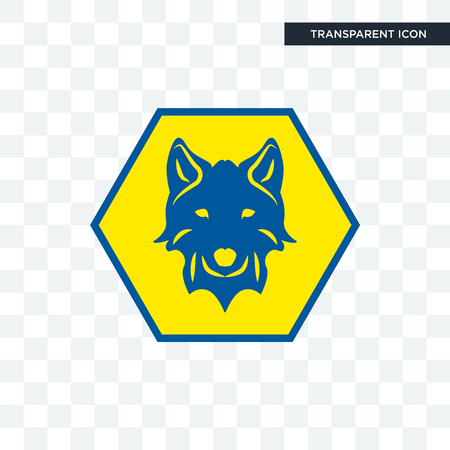 cub scout vector icon isolated on transparent background, cub scout logo concept Stock Illustratie