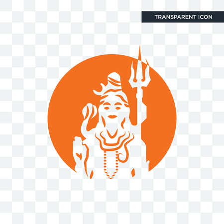 shiv vector icon isolated on transparent background, shiv logo concept Ilustrace