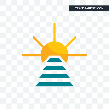 rise and shine vector icon isolated on transparent background, rise and shine logo concept