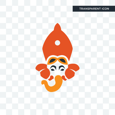 siddhivinayak vector icon isolated on transparent background, siddhivinayak logo concept
