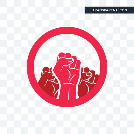 social justice vector icon isolated on transparent background, social justice logo concept