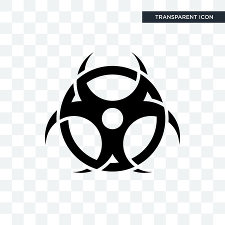contagion vector icon isolated on transparent background, contagion logo concept Иллюстрация