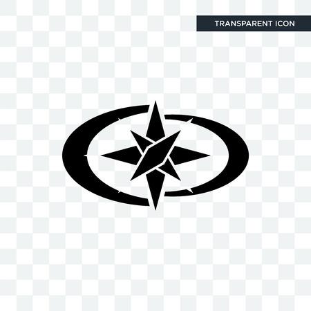 polaris vector icon isolated on transparent background, polaris logo concept