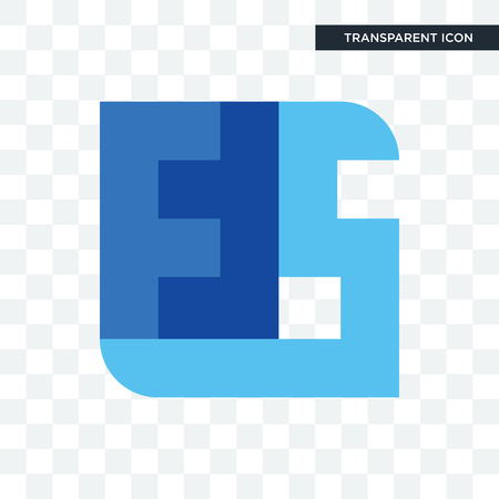 ffs vector icon isolated on transparent background, ffs logo concept