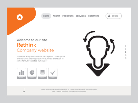 Quality One Page Rethink Website Template