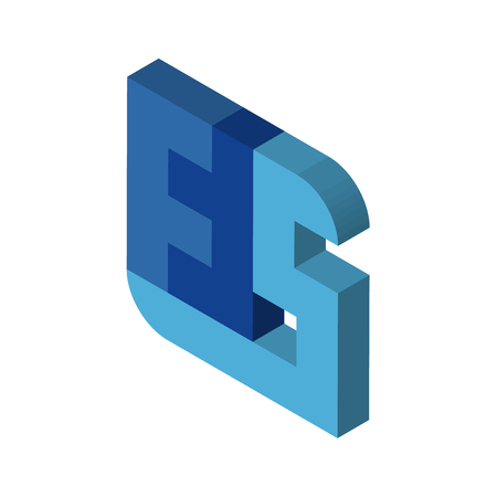 ffs isometric right top view 3D icon