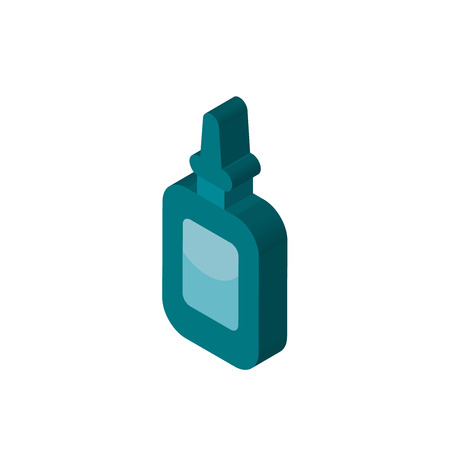 Glue isometric right top view 3D icon Иллюстрация