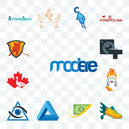 Set Of 13 transparent editable icons such as modere, flying shoe, cashback, penrose triangle, third eye, ashoka, canada goose, ct scan, power play hockey, web ui icon pack