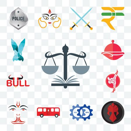 Set Of 13 transparent editable icons such as naacp, spartan, devops, bus, anjaneya, karate, bull, foodora, deceit, web ui icon pack