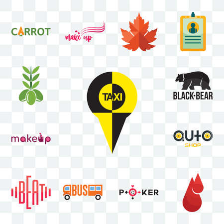 Set Of 13 transparent editable icons such as, blood drop, beat, auto shop, black bear, olive, web ui icon pack