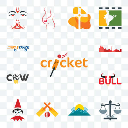 Set Of 13 transparent editable icons such as cricket, naacp, mountain, elf on the shelf, bull, cow, leipzig hd, fastrack, web ui icon pack