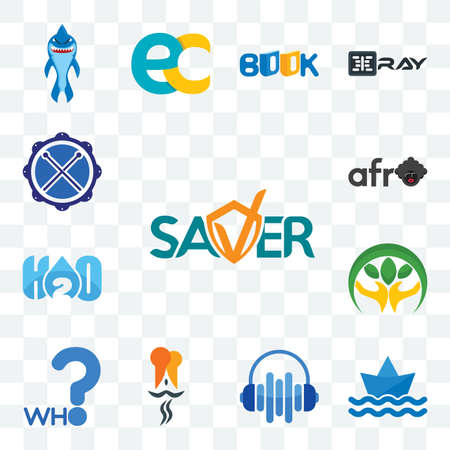 Set Of 13 transparent editable icons such as saver, paperboat, audio visual, indian restaurant, who, hand holding plant, h2o, afro, drummer, web ui icon pack
