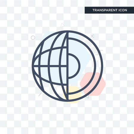 Geology icon isolated on transparent background