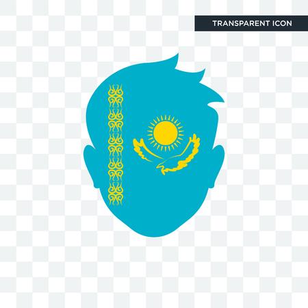 Kazakhstan icon isolated on transparent background