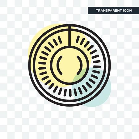 Badge icon isolated on transparent background.