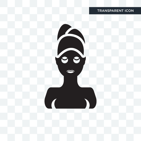 Face Mask  icon isolated on transparent background Фото со стока - 107138737
