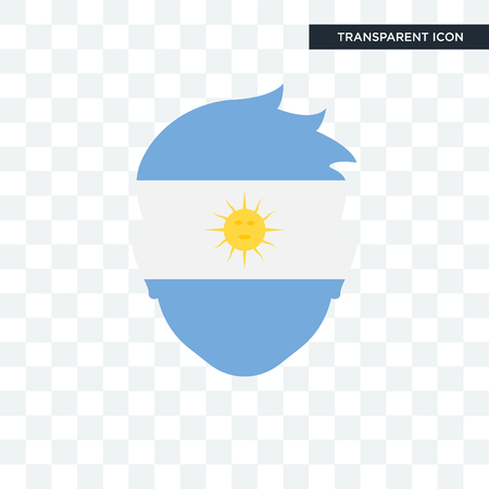 Argentina icon isolated on transparent background